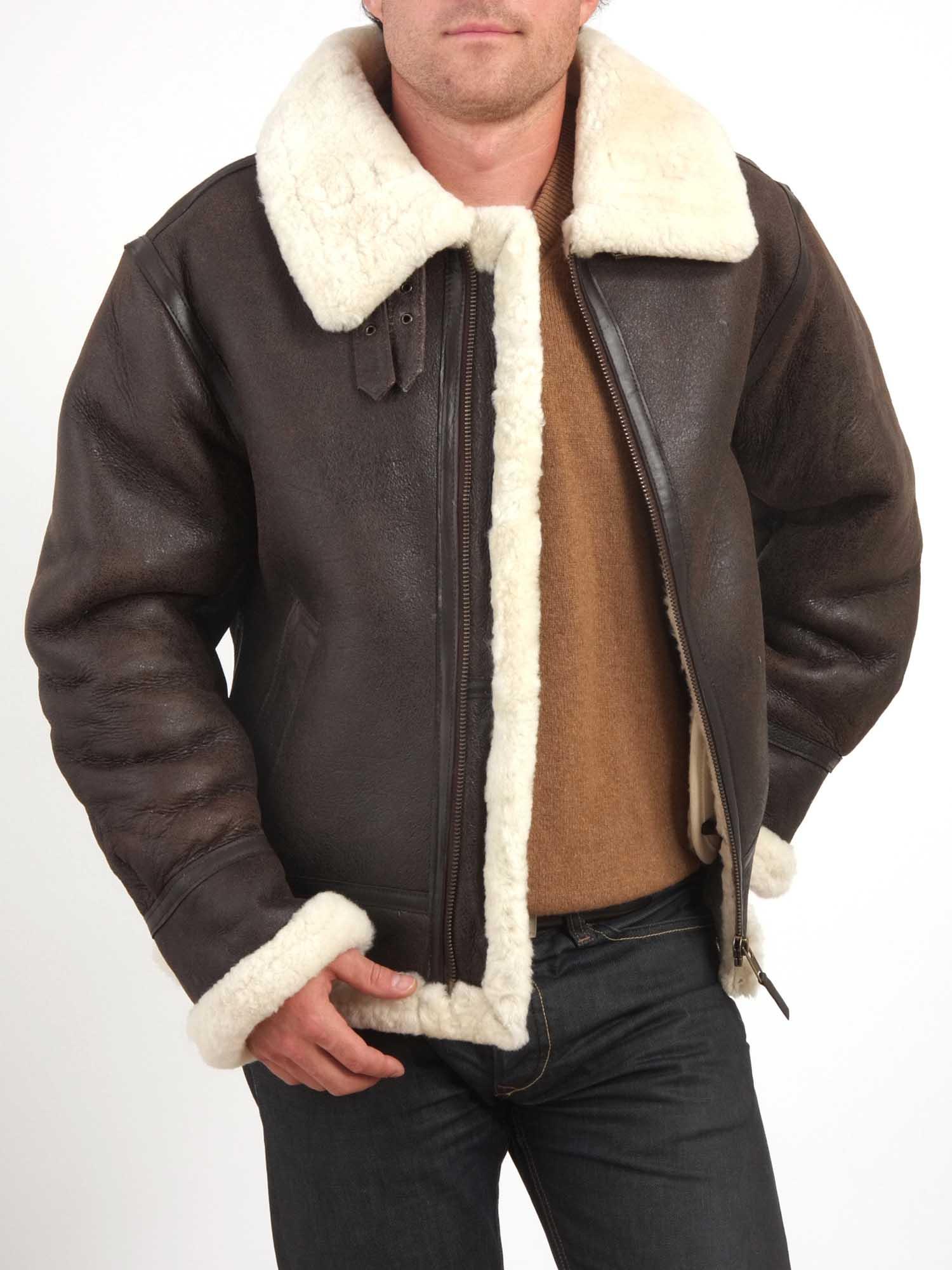 La veste de peau lain e galement appel e veste mouton - Nettoyer peau de mouton ...
