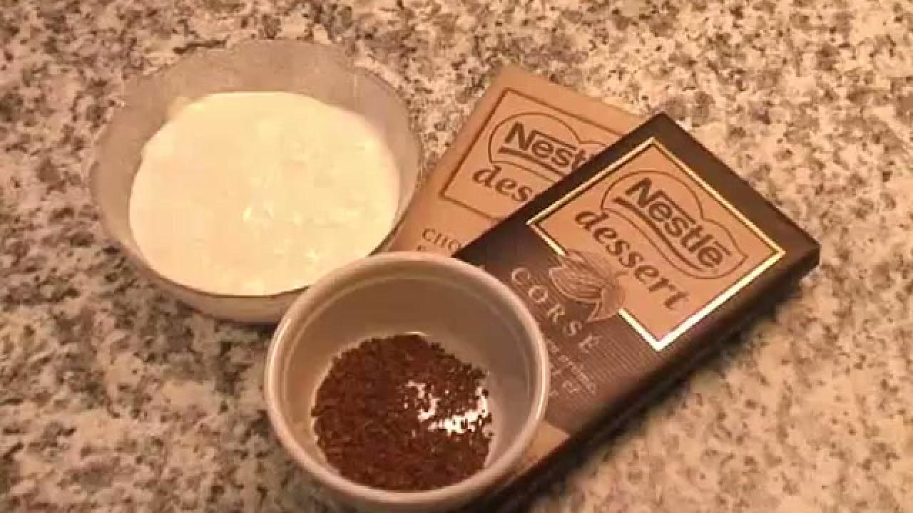 Recette truffe au chocolat, j'en ai trouvé une à tomber !